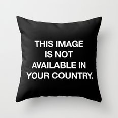 This image is not available in your country Throw Pillow
