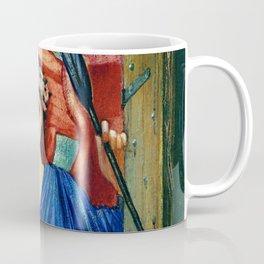 "Edward Burne-Jones ""Love at the window"" Coffee Mug"