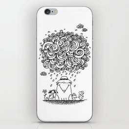 The Cloudburst iPhone Skin