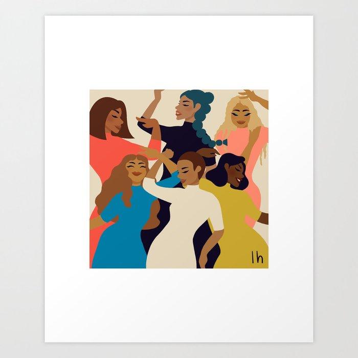 Squad Goals Art Print