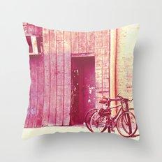 Pedal Throw Pillow