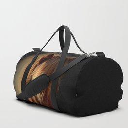 Horse in the dark Duffle Bag