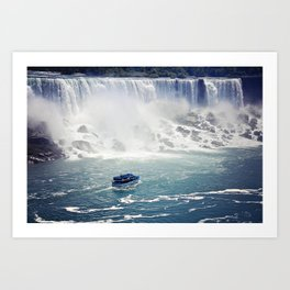 The Niagara Art Print