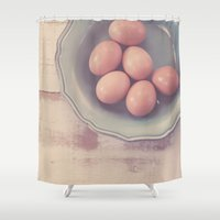 farm Shower Curtains featuring Farm Fresh by Jessica Torres Photography