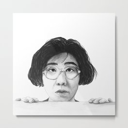 Banana Yoshimoto Metal Print