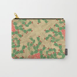 Locust Cider Cactus on Sand Carry-All Pouch