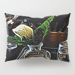 The Leaning Flower of Pisa Pillow Sham