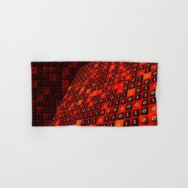 Bits pattern Hand & Bath Towel