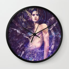 The Outsider Wall Clock