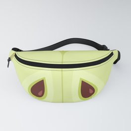 Red Sliced Apple Fanny Pack