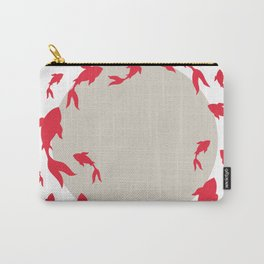 Koi-koi fish Carry-All Pouch