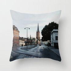 life in Stockholm Throw Pillow