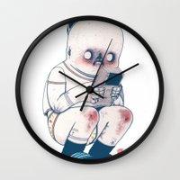 gameboy Wall Clocks featuring GAMEBOY BOY by Morbix