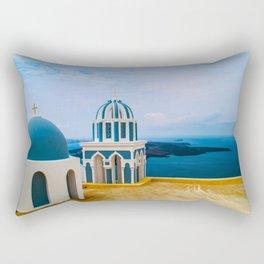 Church with a view Rectangular Pillow