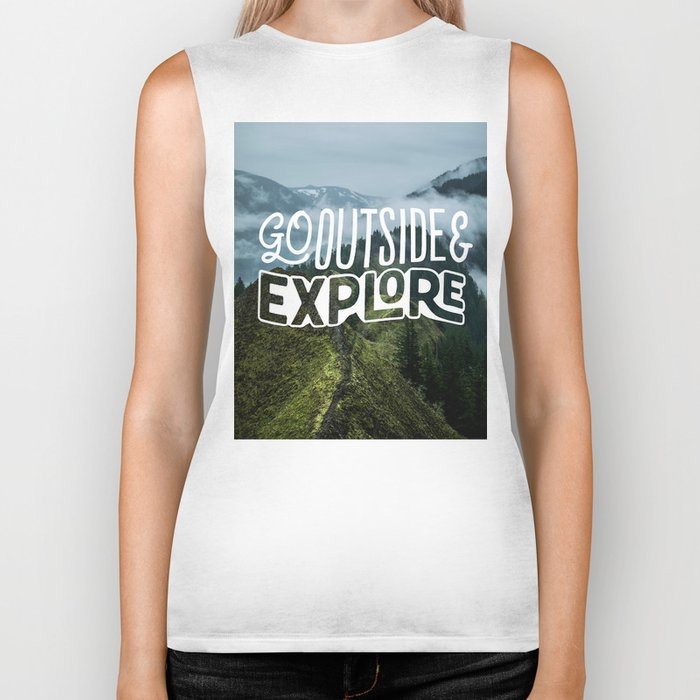 Go outside & explore Biker Tank