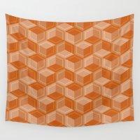 escher Wall Tapestries featuring Escher #003 by rob art | simple