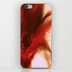 ruby feathers iPhone & iPod Skin