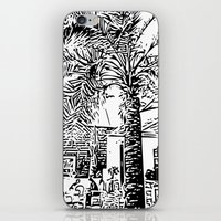 palm tree iPhone & iPod Skins featuring Palm tree by ArteGo