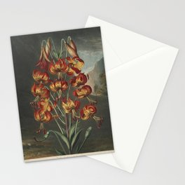 Reinagle, Philip (1749-1833)  - The Temple of Flora 1807 - Superb Lily Stationery Cards