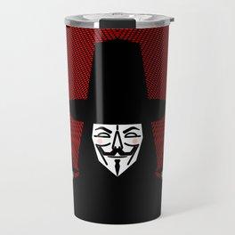 Million Mask March Travel Mug