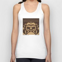 planet of the apes Tank Tops featuring No270 My PLANET OF THE APES minimal movie poster by Chungkong