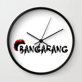 Bangarang Wall Clock