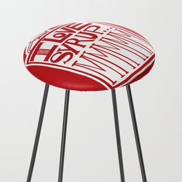 I Love Syrup Counter Stool