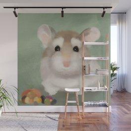 Harvest Hamster Wall Mural