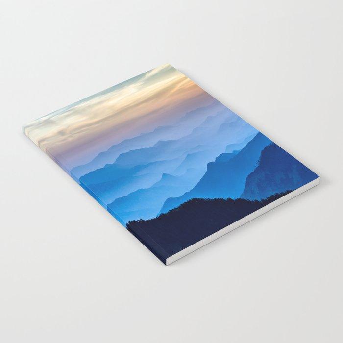 Mountains 11 Notebook
