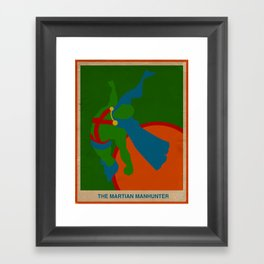 Martian Manhunter Framed Art Print