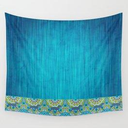 BOHO WEIM BLUES Wall Tapestry
