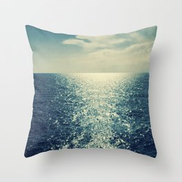 Sea horizon 2 Throw Pillow