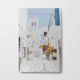 mykonos iii / greece Metal Print
