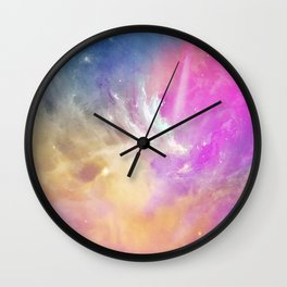 Galactic waves Wall Clock