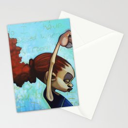strong convictions Stationery Cards