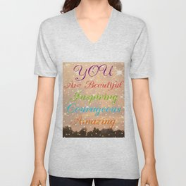 """ You Are..."" Unisex V-Neck"