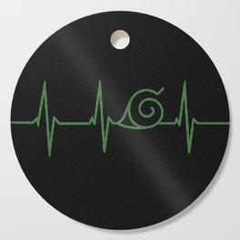 Konohagakure HeartBeat Cutting Board