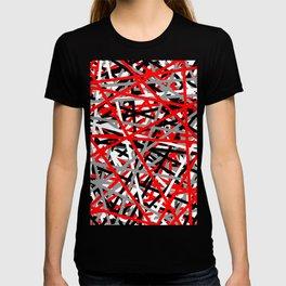 Red Criss Cross T-shirt