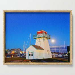Summerside Harbour lighthouse Serving Tray