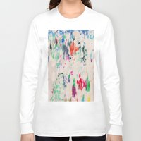 monet Long Sleeve T-shirts featuring Monet Day by Ryan van Gogh