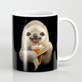 SLOTH & SOFT DRINK Coffee Mug