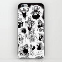 pirates iPhone & iPod Skins featuring Pirates by Louis Van Driessche