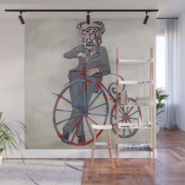 Barry Gangster Farthing - Cream Wall Mural