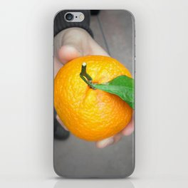 california orange iPhone Skin