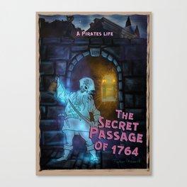 The Secret Passage of 1764 by Topher Adam 2018 Canvas Print
