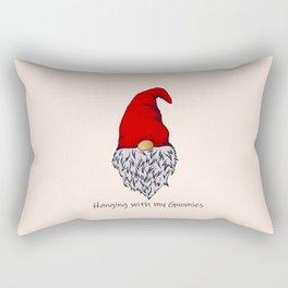 Garden Gnomie Rectangular Pillow