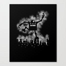 Robo Smash Canvas Print