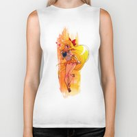 sailor venus Biker Tanks featuring Sailor Venus by Peach Mork