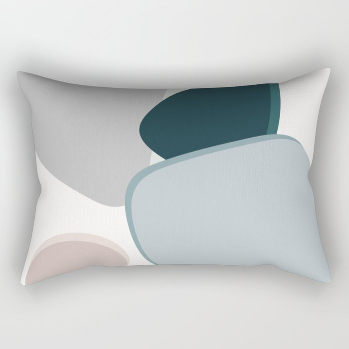4 Shapes Rectangular Pillow