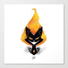 NightmareNetty (Galaxy) Canvas Print